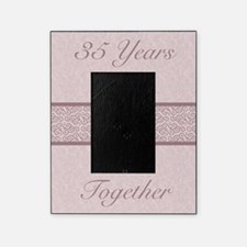 Rustic 35th Anniversary Picture Frame