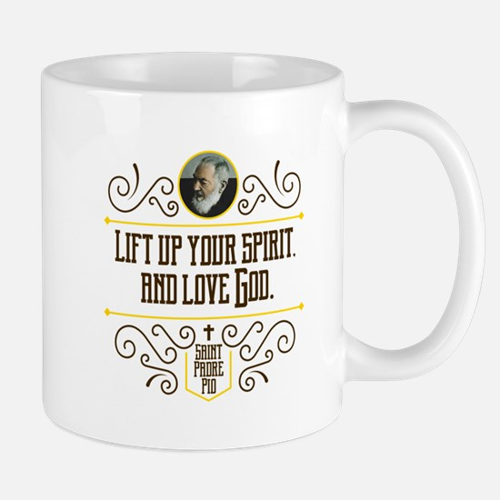 Lift Up Your Spirit Mugs
