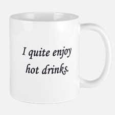 "D&C 89 ""I quite enjoy hot drinks"" Mugs"