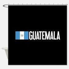 Guatemalan Flag & Guatemala Shower Curtain