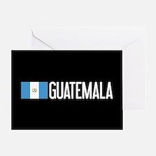 Guatemalan Flag & Guatemala Greeting Card