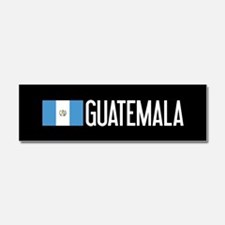 Guatemalan Flag & Guatemala Car Magnet 10 x 3