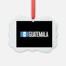 Guatemalan Flag & Guatemala Ornament