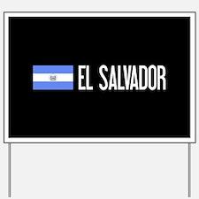 El Salvadoran Flag & El Salvador Yard Sign