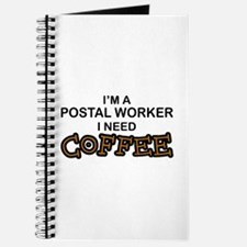 Postal Worker Need Coffee Journal