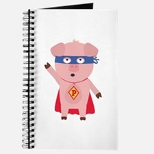 Superhero Pig Journal