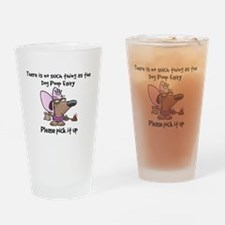 Unique Dog poop Drinking Glass