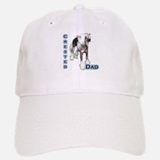 Crested Dad4 Baseball Baseball Cap