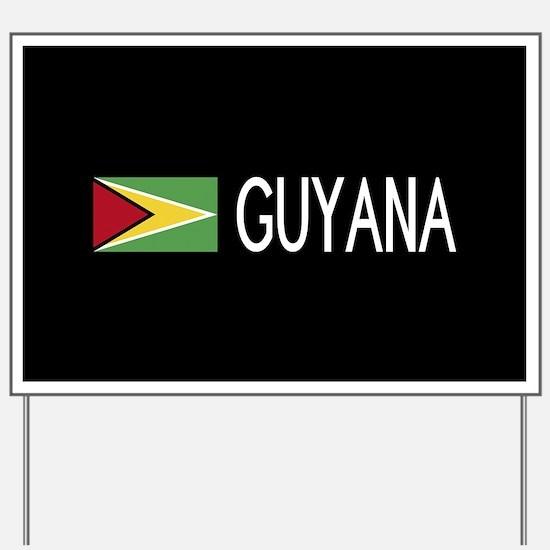 Guyanese Flag & Guyana Yard Sign