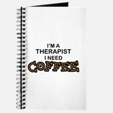 Therapist Need Coffee Journal