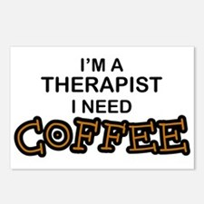 Therapist Need Coffee Postcards (Package of 8)