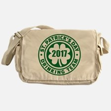 St. Patricks day drinking team 2017 Messenger Bag