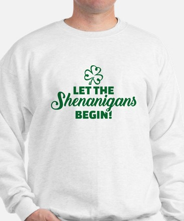 Let the shenanigans begin Sweater