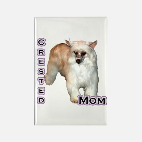 Crested(powder) Mom4 Rectangle Magnet