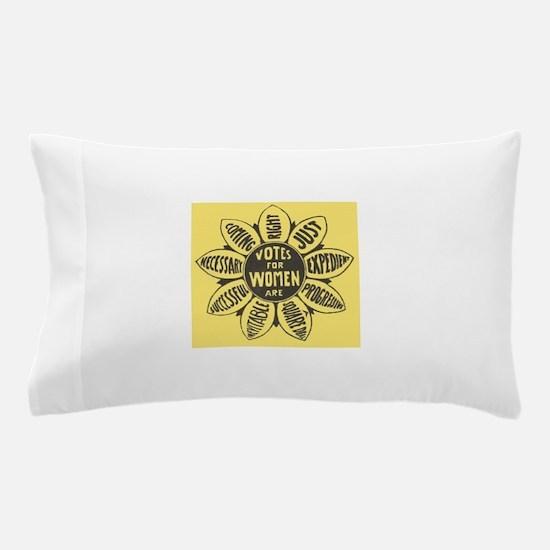 Votes for Women Pillow Case