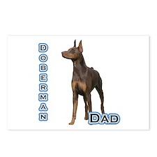 Dobie(rust) Dad4 Postcards (Package of 8)