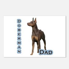 Dobie(rust) Dad4 Postcards (Package of 8)