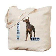 Dobie(rust) Dad4 Tote Bag