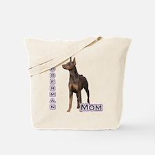 Dobie(rust) Mom4 Tote Bag