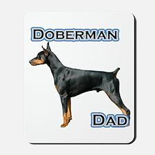 Dobie(blk) Dad4 Mousepad