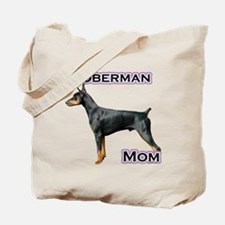 Dobie(blk) Mom4 Tote Bag