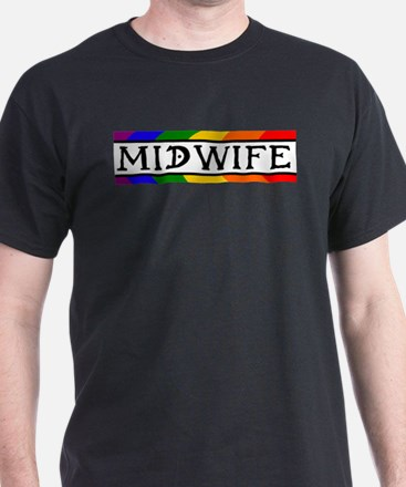 Rainbow Midwife Women's Cap Sleeve T-Shirt