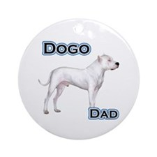 Dogo Dad4 Ornament (Round)