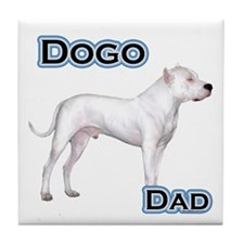 Dogo Dad4 Tile Coaster