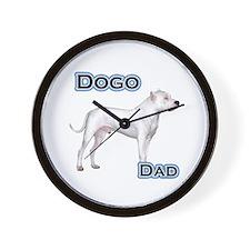 Dogo Dad4 Wall Clock