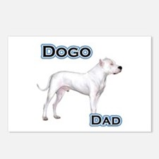 Dogo Dad4 Postcards (Package of 8)