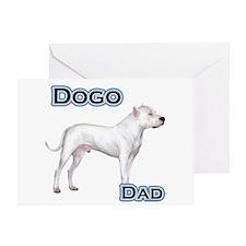 Dogo Dad4 Greeting Card