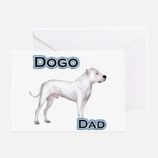 Dogo Dad4 Greeting Card