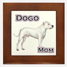 Dogo Mom4 Framed Tile