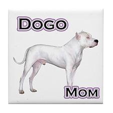 Dogo Mom4 Tile Coaster