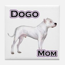 Dogo Mom4 Tile Coaster