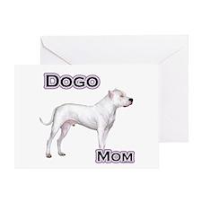 Dogo Mom4 Greeting Card