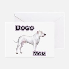 Dogo Mom4 Greeting Card
