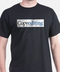 Copy Editor Dating Ash Grey T-Shirt