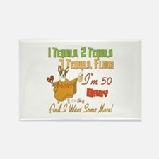 50th Birthday Tequila Party Magnets