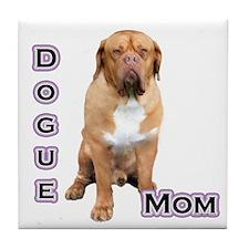 Dogue Mom4 Tile Coaster