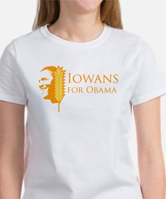 Iowans for Obama Women's T-Shirt