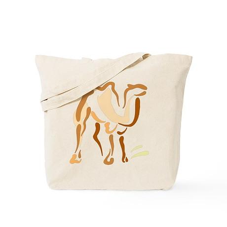 Artsy Camel Tote Bag