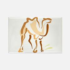 Artsy Camel Rectangle Magnet (10 pack)