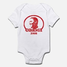 Vintage Barack Obama 2008 (re Infant Bodysuit