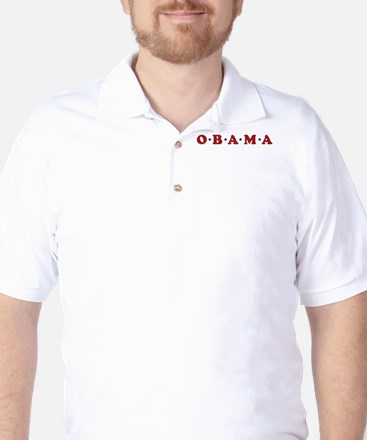 Obama (simple stars) Golf Shirt