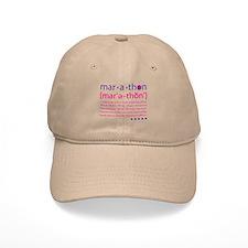 Marathon Defined Baseball Cap