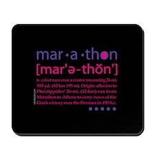 Marathon Defined Mousepad