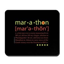 Marathon Defined Mousepad