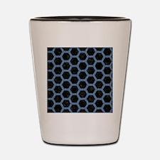 HXG2 BK-MRBL BL-DENM Shot Glass