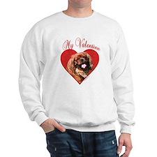 English Toy Valentine Sweatshirt